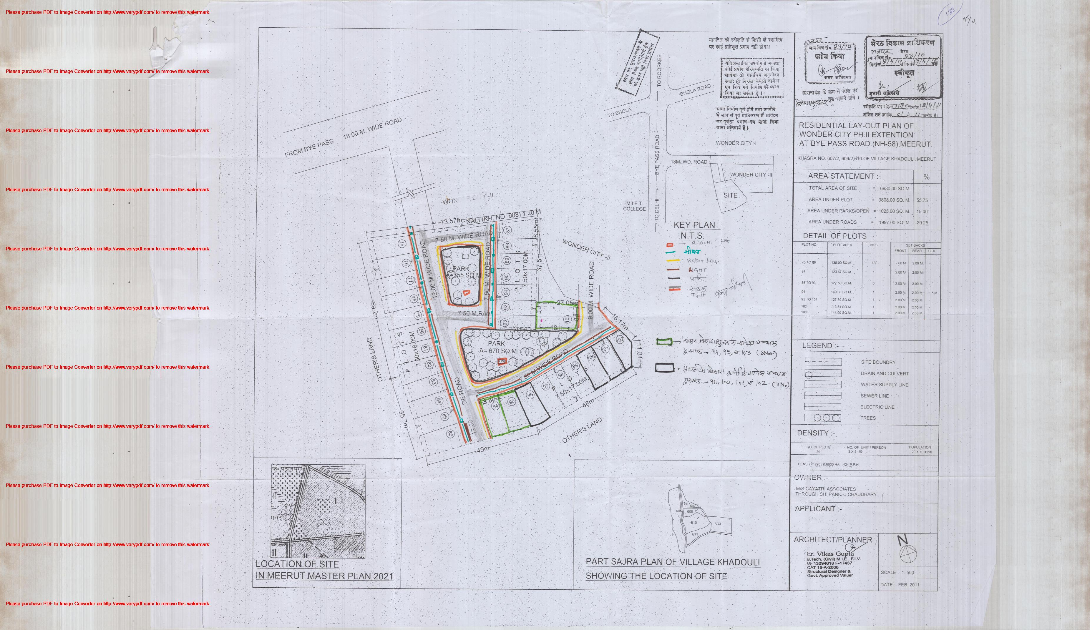 Approved Colonies  Meerut Development Authority
